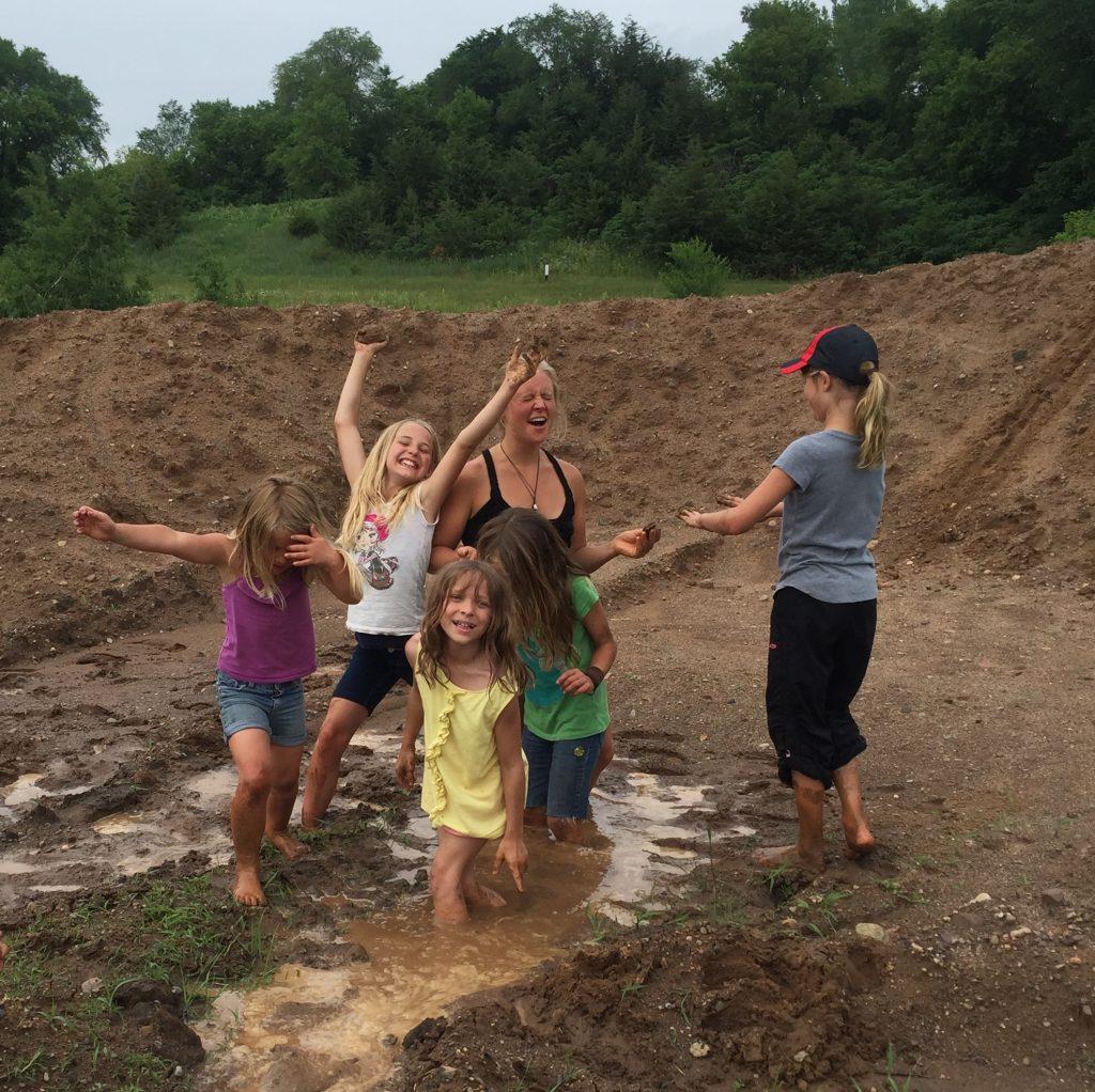 Mud play!